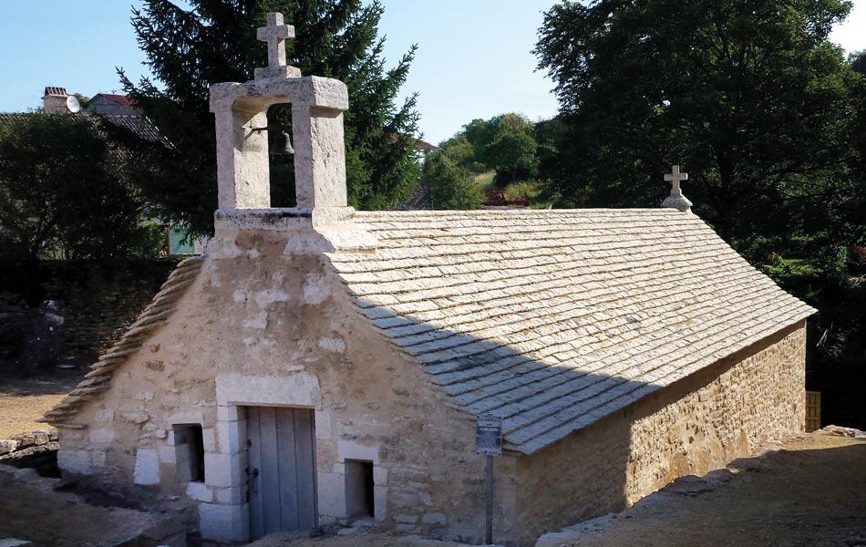 Couverture en laves - Association Sentiers, Dijon, chantiers d'insertion professionnel